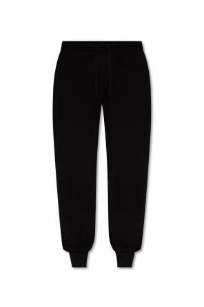 Spodnie dresowe ściągane trokami od Paul Smith