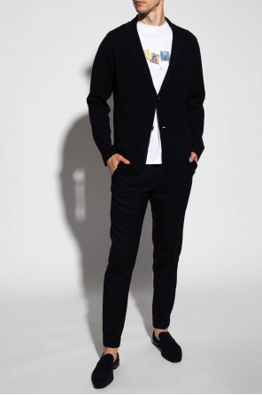 Wool pleat-front trousers od Paul Smith