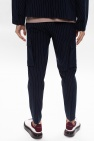 Samsøe Samsøe Spodnie w kant