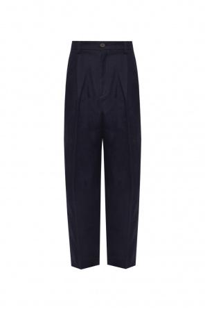 Pleat-front trousers od Samsøe Samsøe