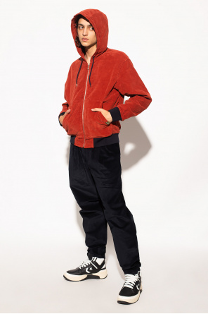 Corduroy trousers with logo od PS Paul Smith