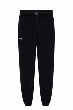 Logo-embroidered sweatpants od Vetements