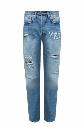 Distressed jeans od Vetements