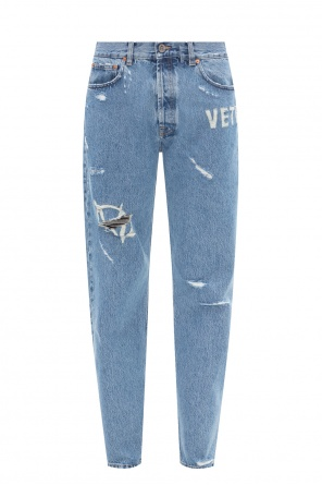 Raw edge jeans od Vetements