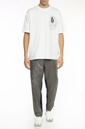 Polyamide trousers od Golden Goose