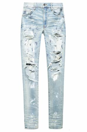 Jeans with holes od Amiri