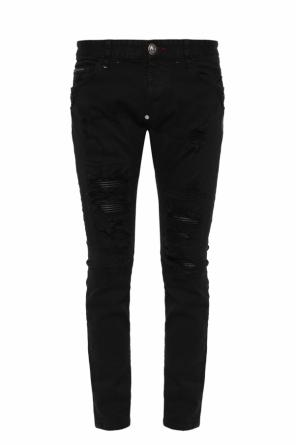 Distressed skinny jeans od Philipp Plein