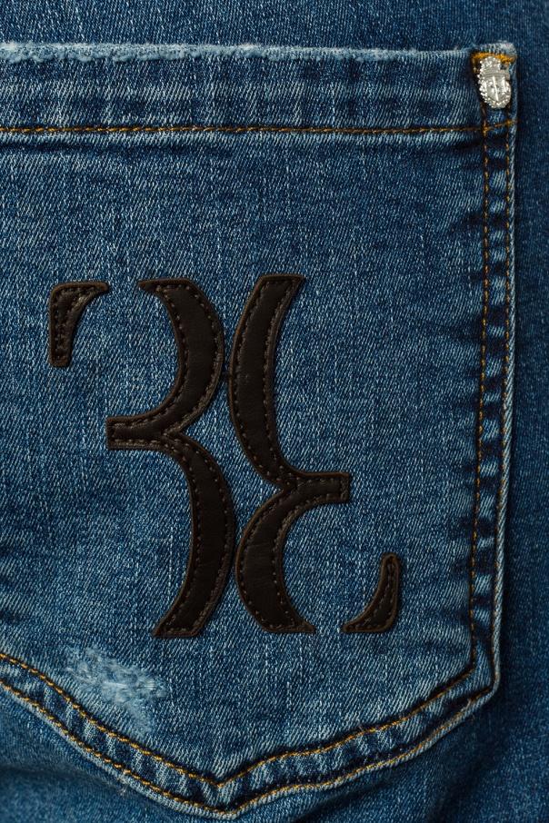Stitching detail jeans od Billionaire