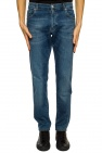 Billionaire Stitching detail jeans