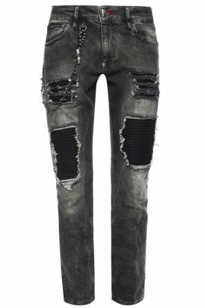 Jeans with inserts od Philipp Plein