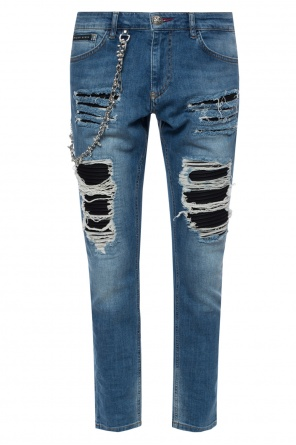 'fashion show' jeans od Philipp Plein