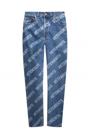 Jeans with logo od Vetements