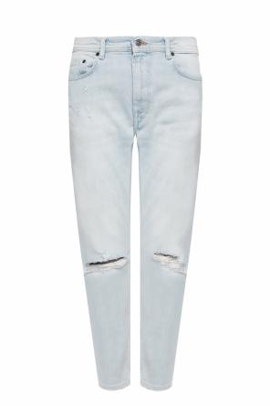 Jeans with holes od Acne