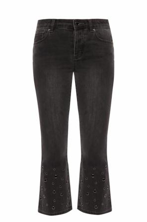 Jeans with grommets od Michael Kors