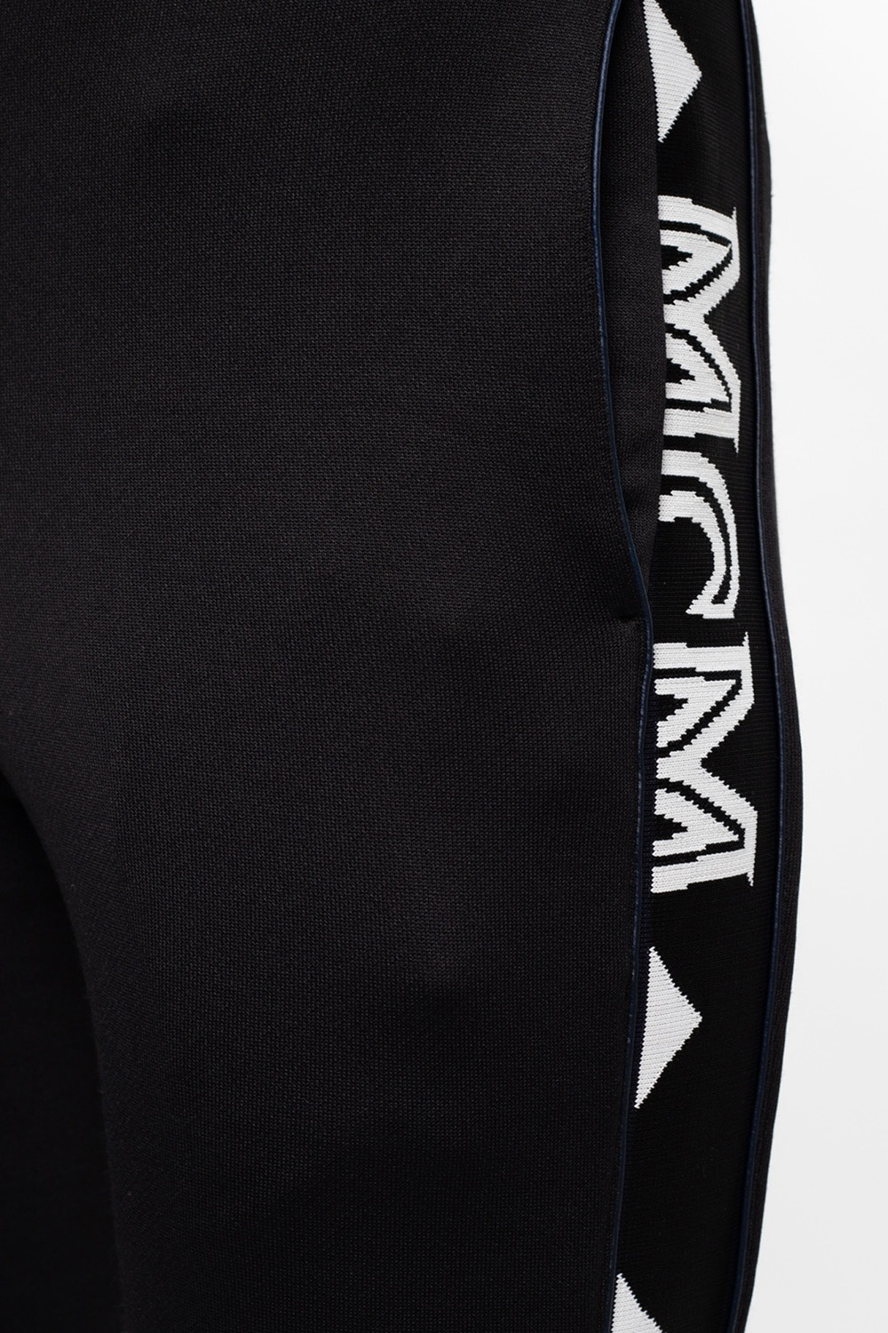 MCM Sweatpants with branded panels