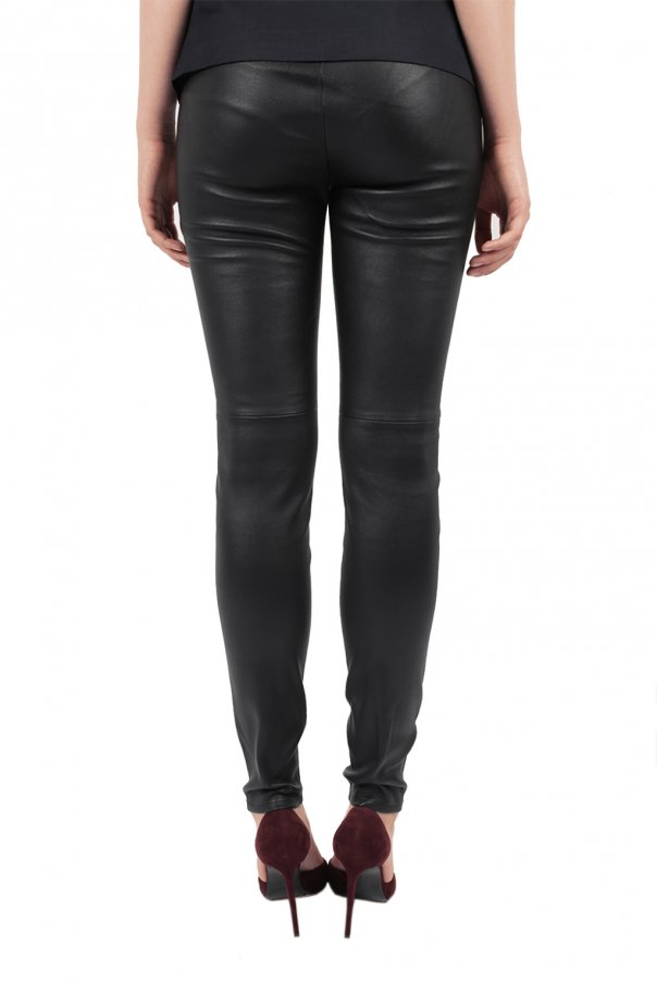 Leather skinny trousers od Michael Kors