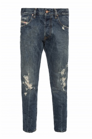 'mkharky' jeans with holes od Diesel