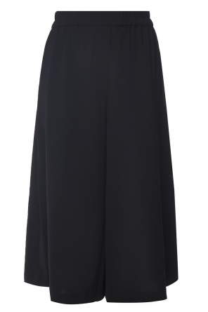 Wide cropped trousers od Acne