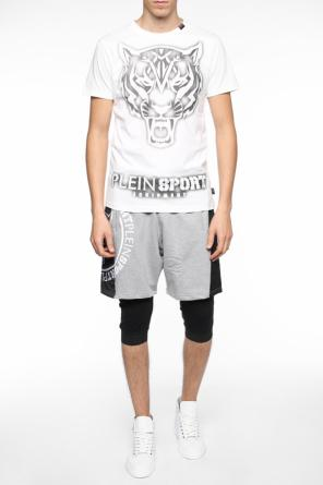 Shorts with printed logo od Plein Sport