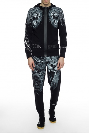 Patterned sweatpants od Plein Sport