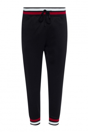 Sweatpants with contrasting cuffs od Plein Sport