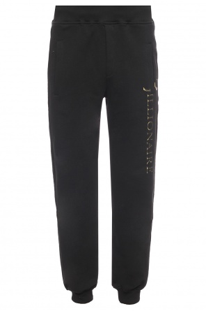 Sweatpants with shaded logo od Billionaire