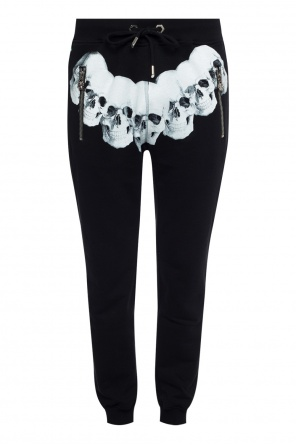 Sweatpants with motif of skulls od Philipp Plein