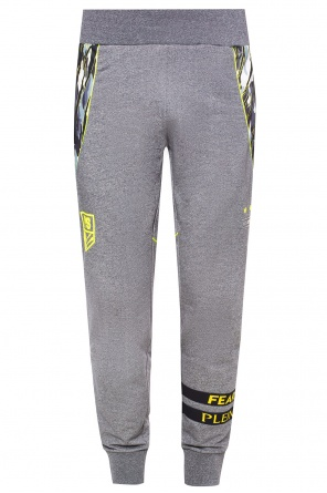 Sweatpants with inserts od Plein Sport