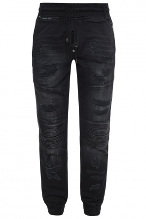 Distressed trousers od Philipp Plein