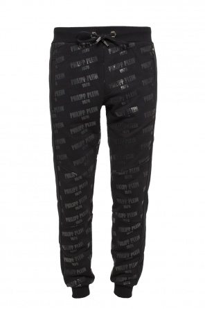 Sweatpants with a printed logo od Philipp Plein