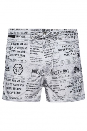 Printed swim shorts od Philipp Plein