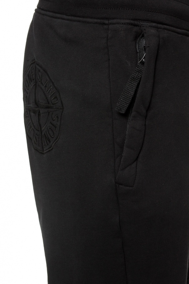 Logo-embroidered sweatpants od Stone Island