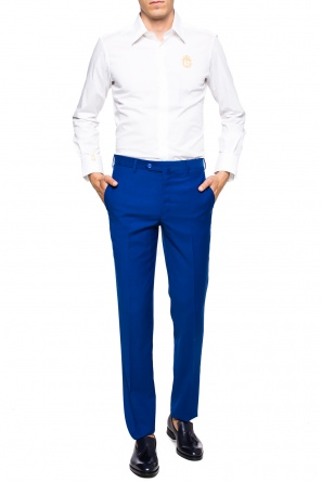 Pleat-front trousers od Billionaire