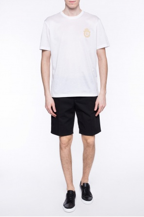 Logo-stitched shorts od Billionaire