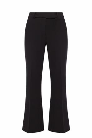 Pleat-front flared trousers od Michael Kors