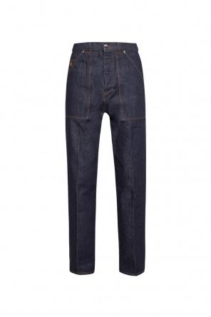 Jeans with pockets od Nanushka