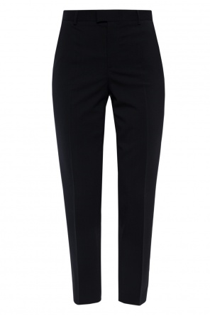 Pleat-front trousers od Valentino Red