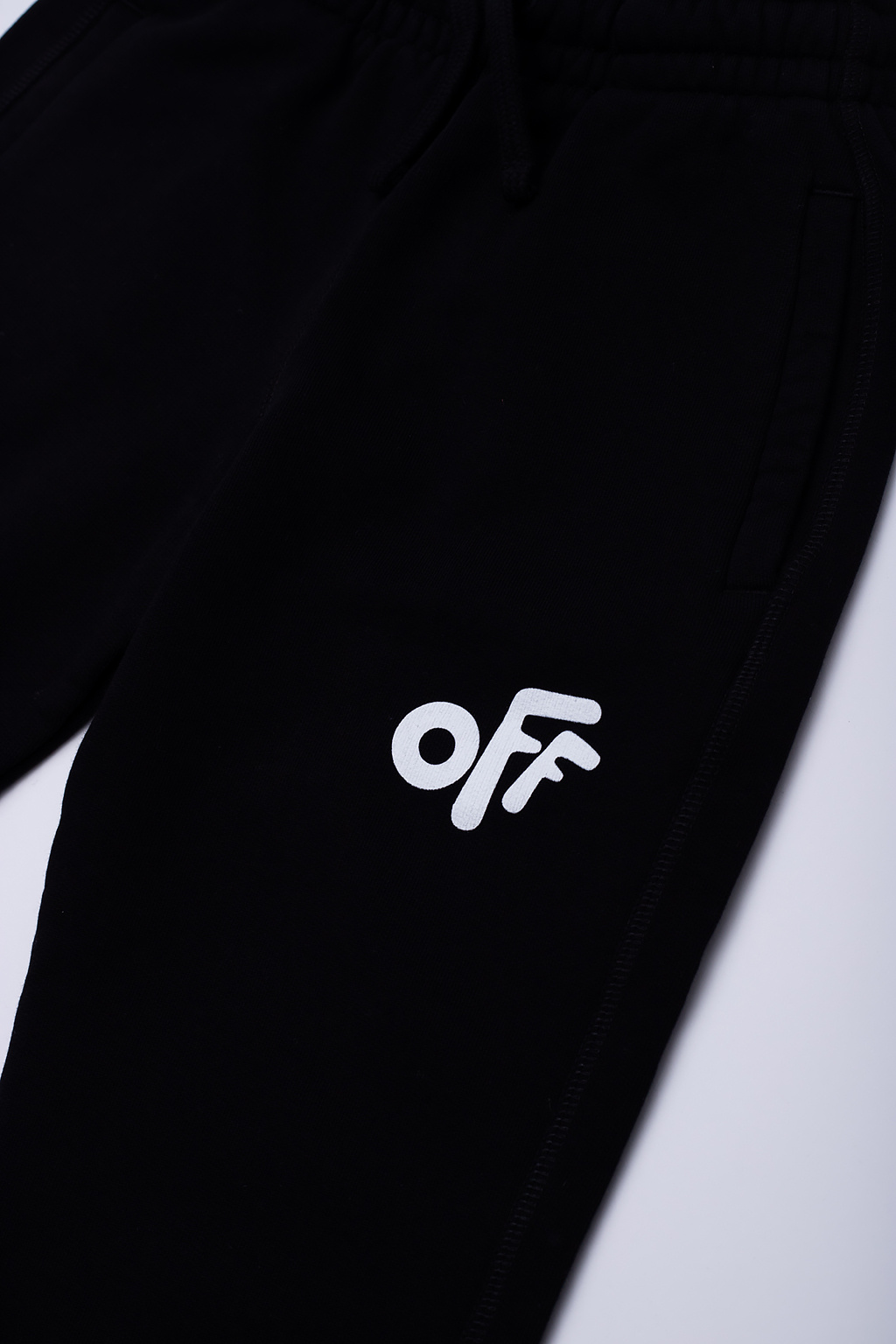 Off-White Kids Sweatpants with logo