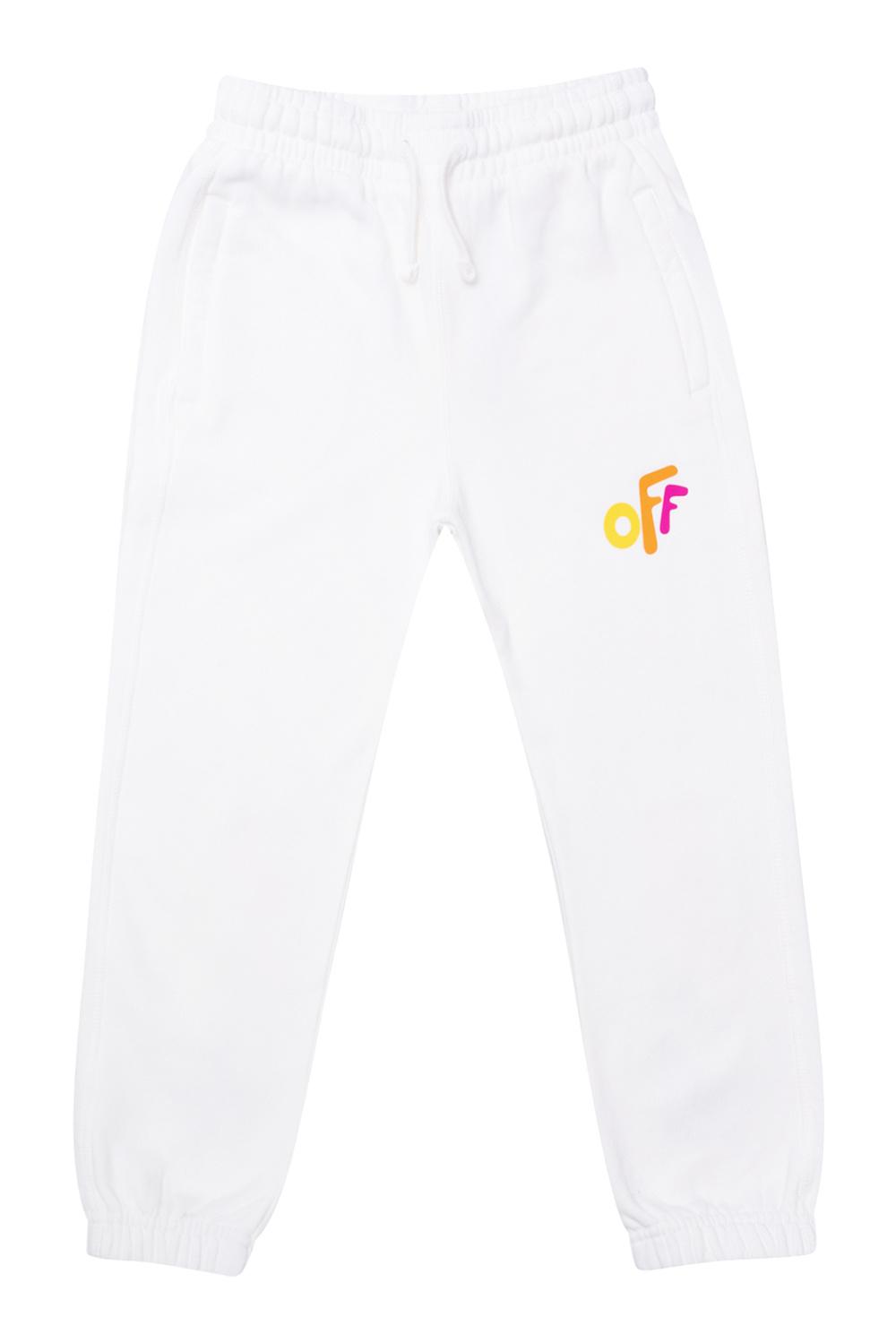 Off-White Kids Cotton sweatpants