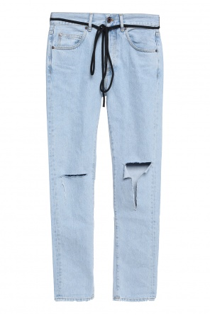 Distressed jeans od Off White