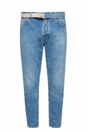 Jeans with attached belt od Off White