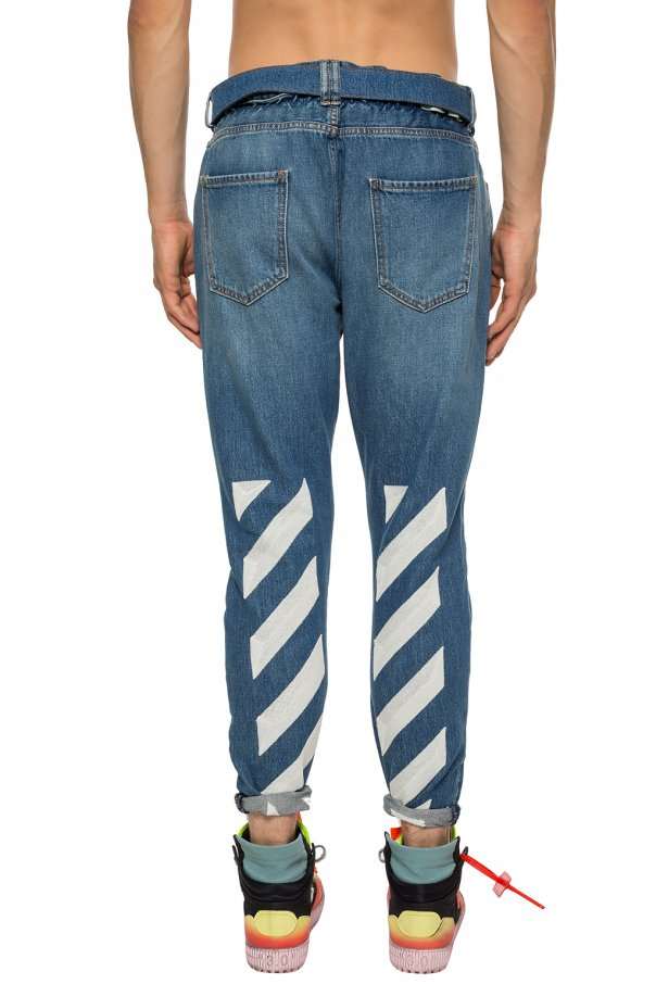 Striped jeans od Off White