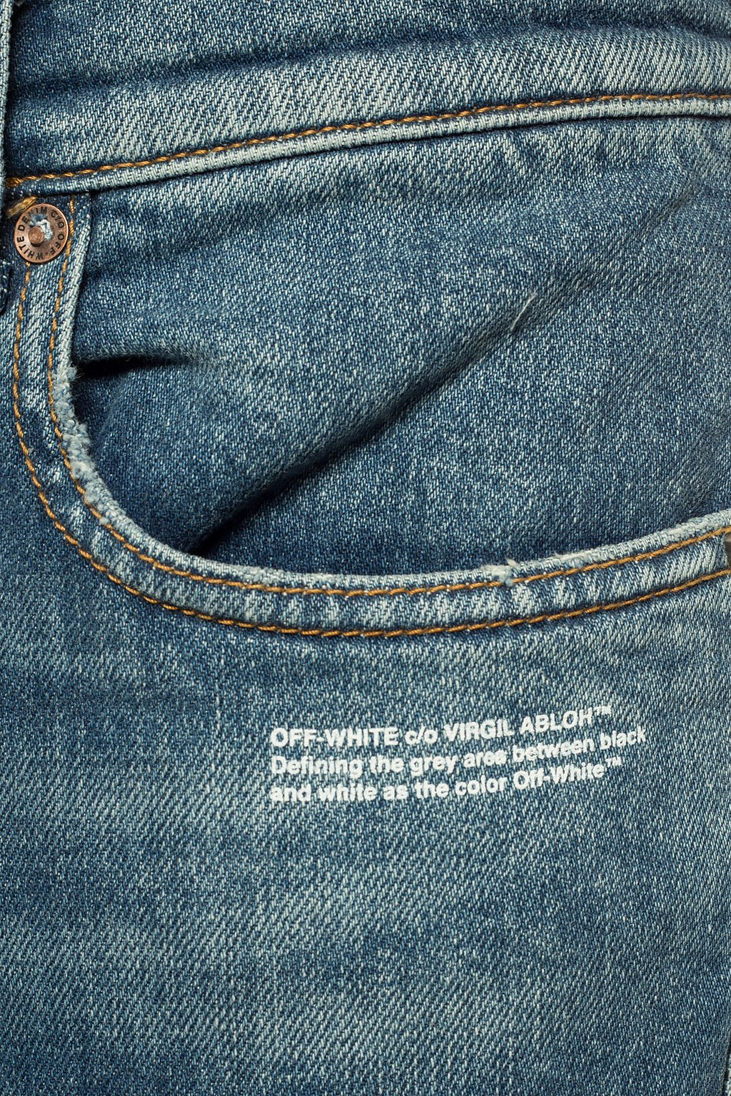Off-White Logo-printed jeans