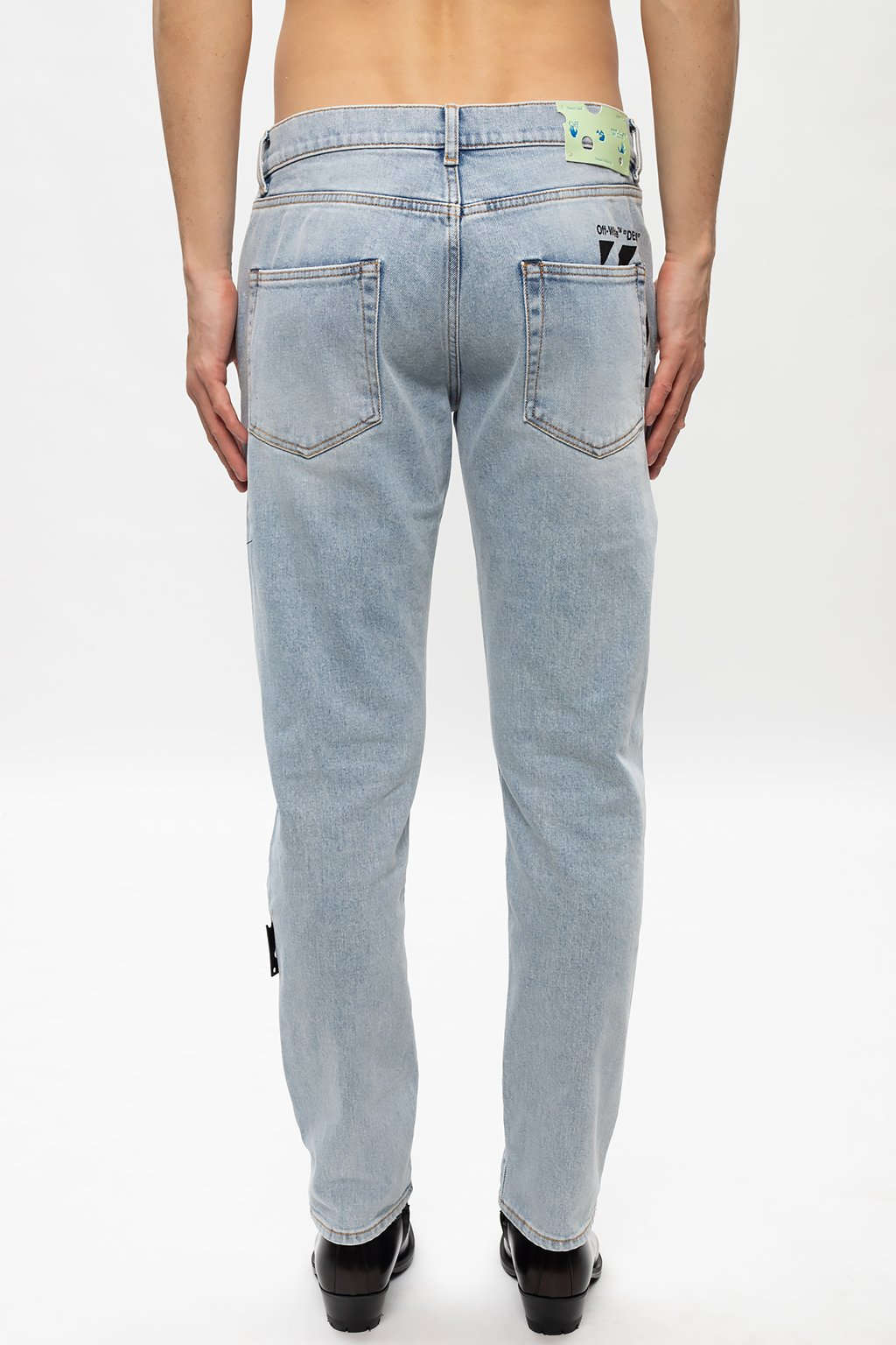 Off-White Jeans with logo
