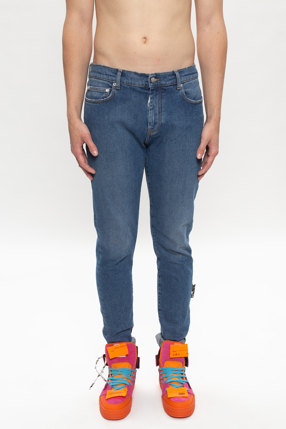 Off-White Printed jeans