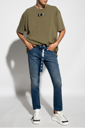 Jeans with belt od Off-White