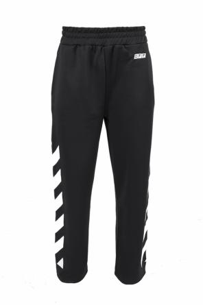 Sweatpants with a print od Off White