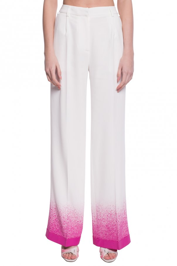 Off-White Spodnie w kant gfq4uWqP