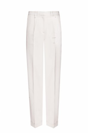 Logo-printed trousers od Off White