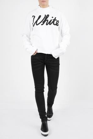 Embroidered tapered jeans od Off White